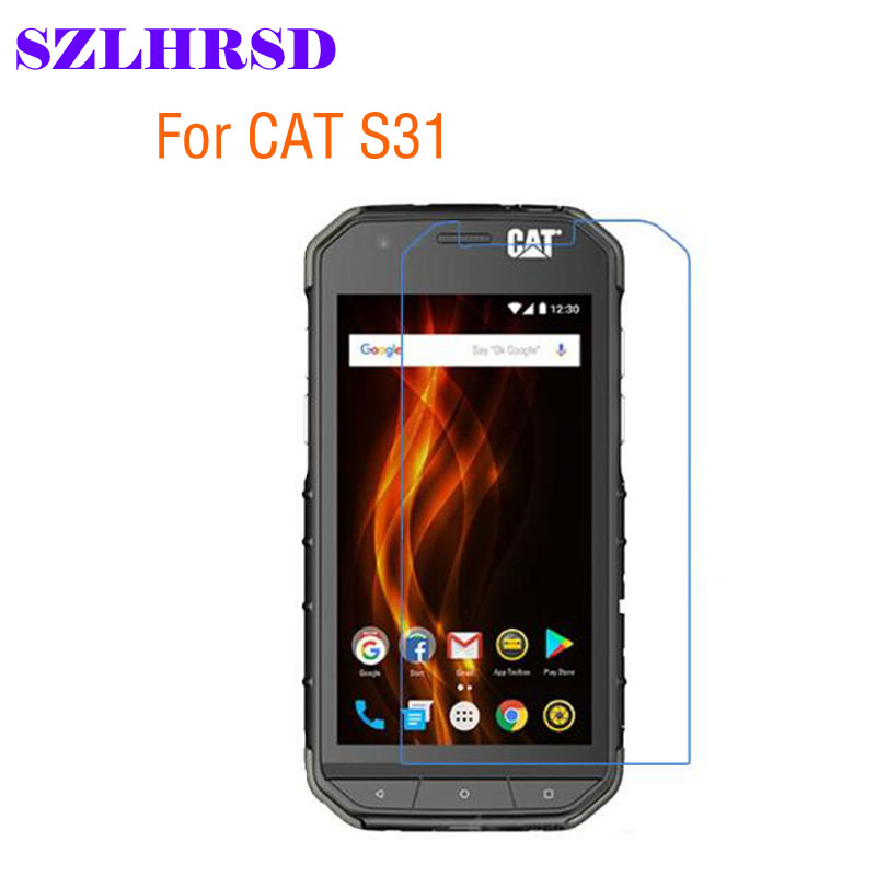 SZLHRSD For CAT S31 Screen Protector Clear Soft Nano Anti-Explosion Protective Film For Caterpillar Cat S31 4.7