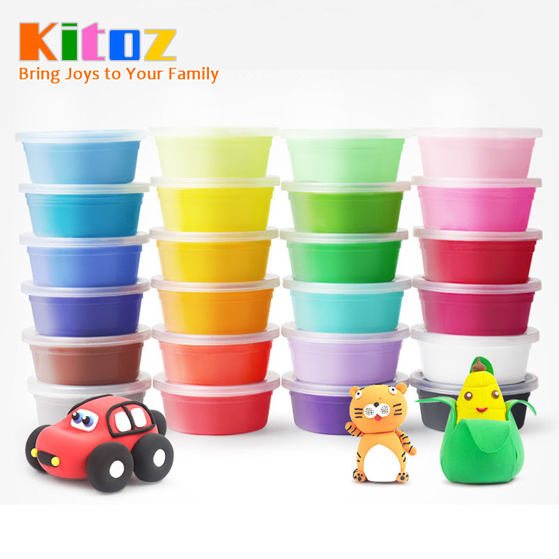 20g Slime Fluffy Kit Polymer Clay Plasticine Suppliers Soft Light Clay Putty For Modeling Playdough Play Dough Lizun Toy For Kid