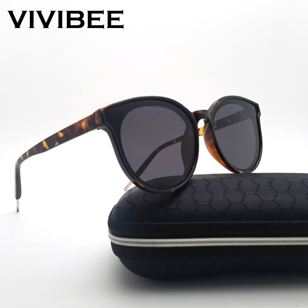 VIVIBEE Ladies Leopard Square 2019 Trending Women Sunglasses Fashion Sun Glasses New Womens Shades Luxury Clout Goggles