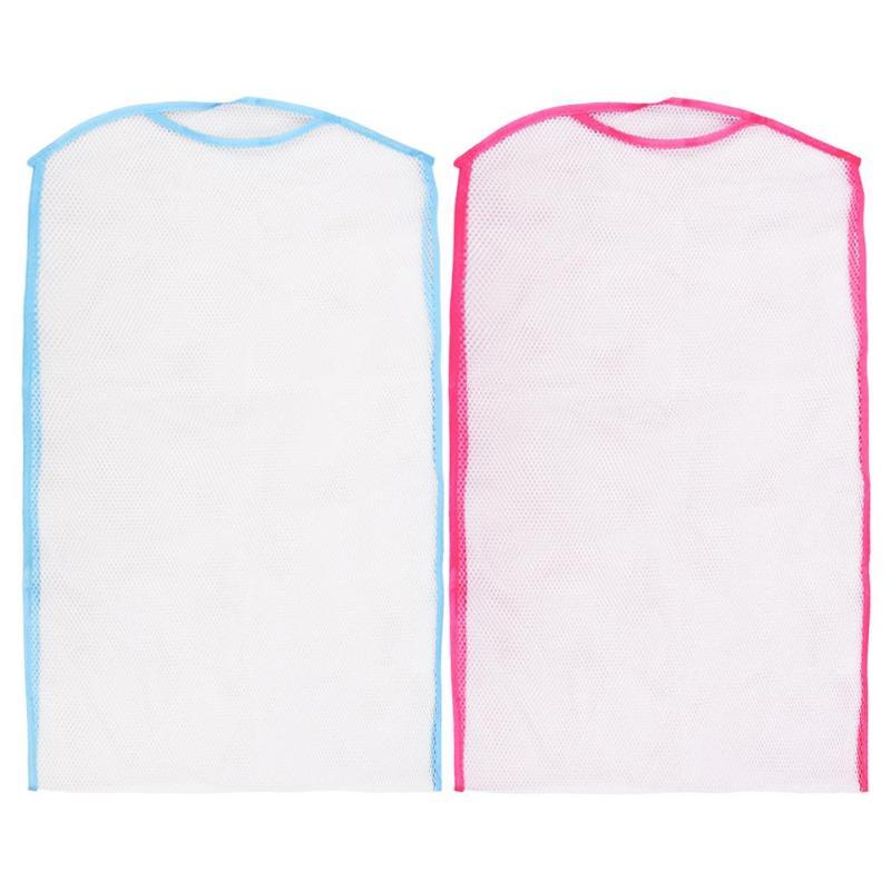 Folding Breathable Pillow Drying Nets Balcony Hanger Net Cushion Dry Bag