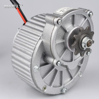 Electric Bike Motor 24V 36V 450W Brushed DC Motor Bicycle Conversion Kit Rear Drive Engine For
