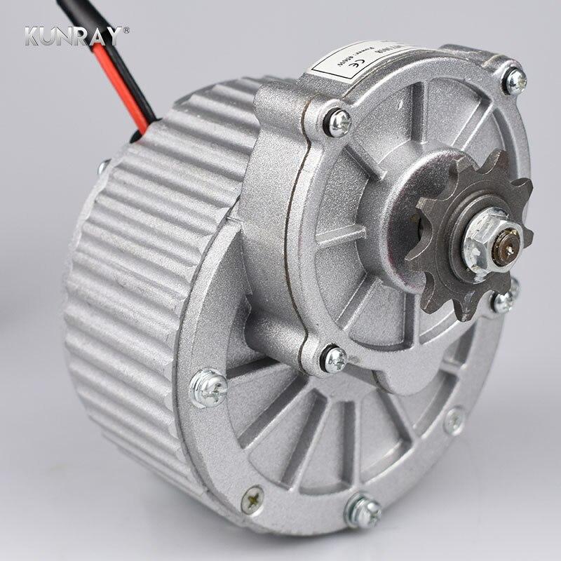 Elektrische Fahrrad Motor 24V 36V 450W Gebürstet DC Motor Fahrrad Conversion Kit Rear Drive Motor Für Fahrrad roller Teile MY1018