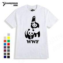 a8c178711 Fashion 16 Colors Boutique Mens T-shirt Funny WEWANLD WWF Wrestling Panda  Comedy Short Sleeve Cool Tees Summer Hot Men T Shirt