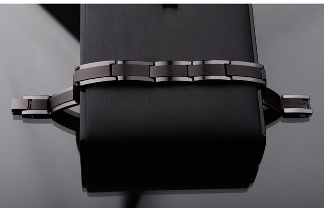 Black Tone Tungsten Steel Bracelets