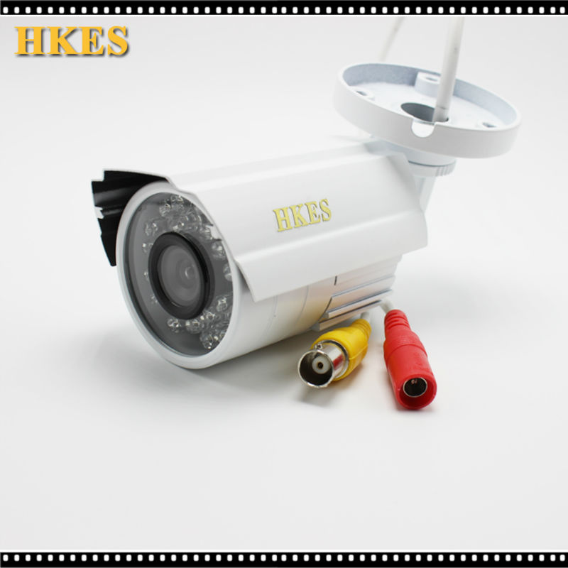 Hot 2MP HD CCTV 1080P AHD Camera 3000TVL Outdoor Waterproof Mini Small Metal White Bullet IR Security Surveillance Cam low illumination hd 1 3mp cctv 960p ahd camera 3000tvl outdoor waterproof mini small metal white bullet ir security surveillance