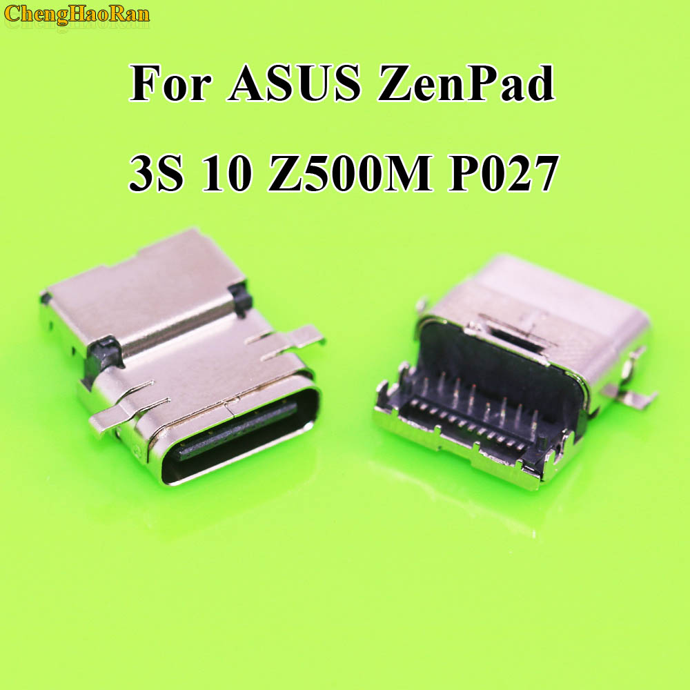 ChengHaoRan 1x For Asus ZenPad 3S 10 Z500M P027 USB charger Connector dock New P027 Charging Port in Mobile Phone Flex Cables from Cellphones Telecommunications