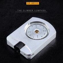 OP005 Professional альпинист алюминиевый Прицельный компас позиционное расстояние измерения