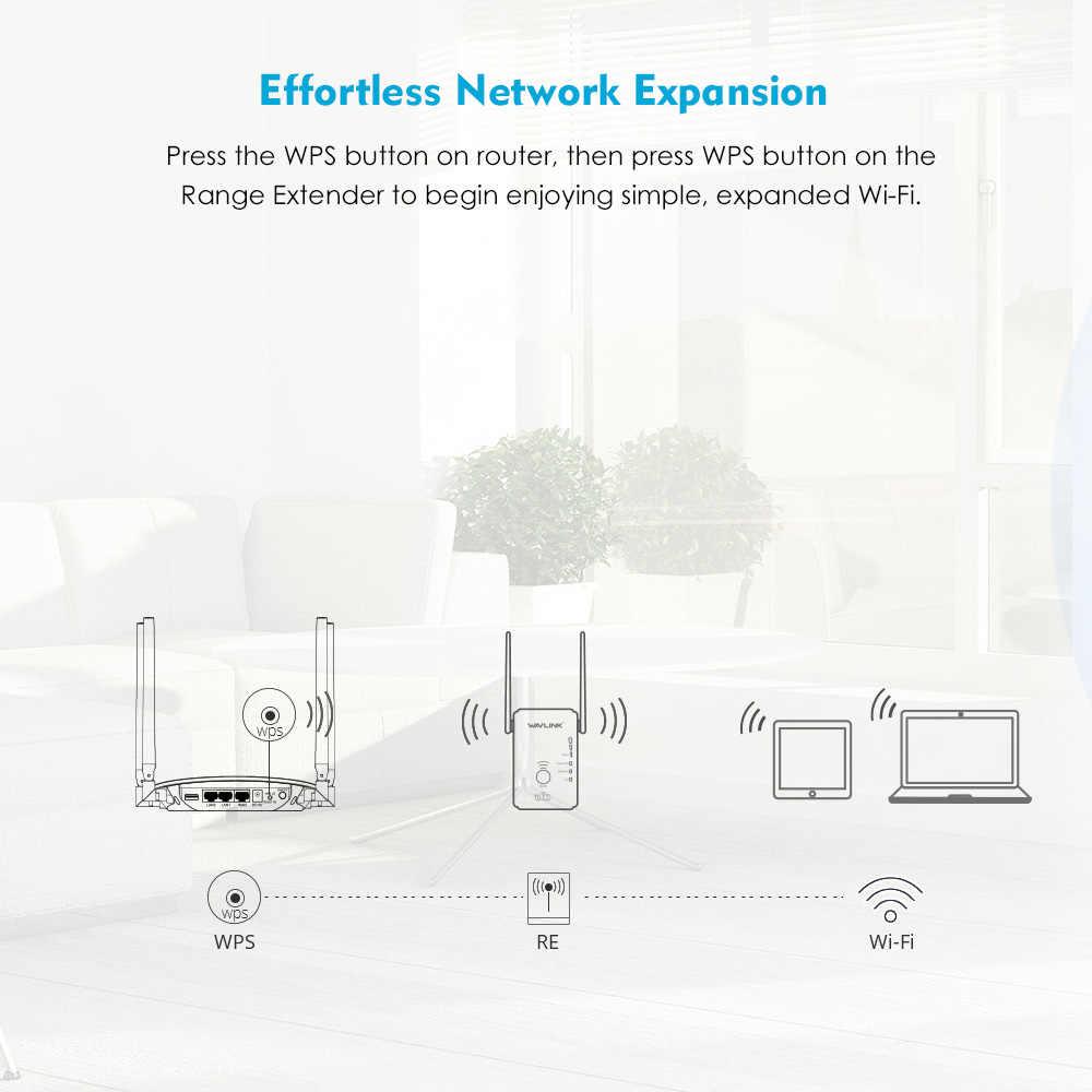 Ban đầu N300 Wifi Repeater tốc độ 300 Mbps Đa Năng Bộ Khuếch Router Với 2 Anten Điểm Truy Cập Router Chế Độ Repeater