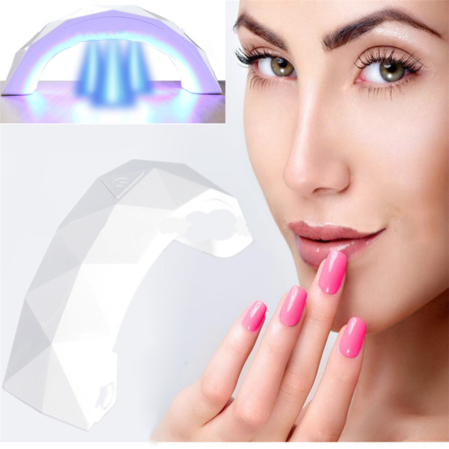HAIVAR 9W UV Lamp Light Nail Dryer Manicure Gel With Timer 180130 drop shipping