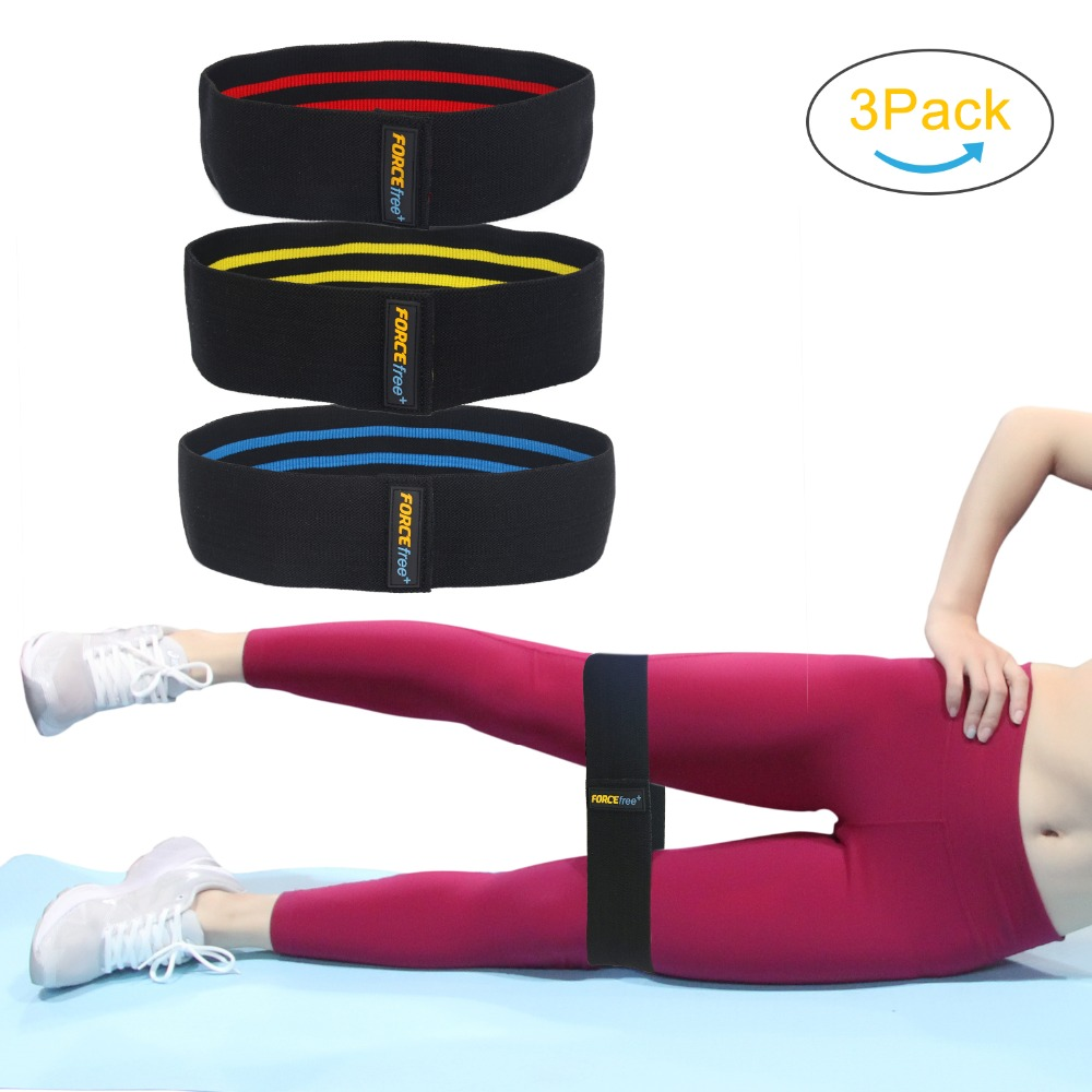 Procircle Hip-Resistance-Bands Booty Glutes Hip-Workout/activating For Set-Of-3