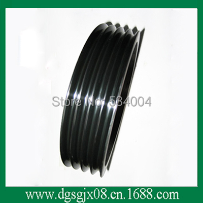 Multi Grooved Copper wire guide pulley chrome oxide plated steel wire guide pulley for wire industry