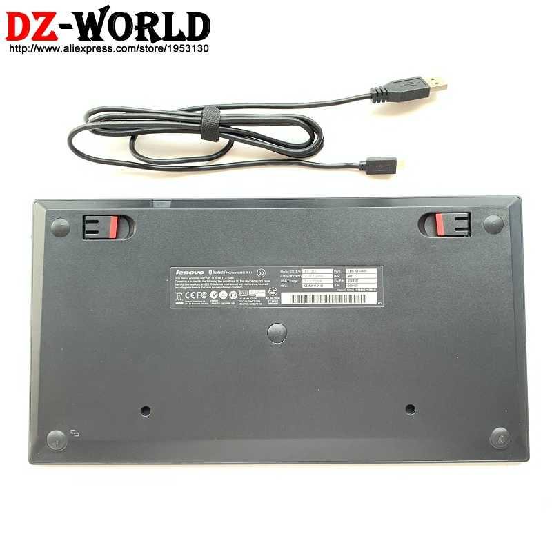מקורי חדש עבור Lenovo ThinkPad Bluetooth DK דנמרק מקלדת KT-1255 אלחוטי Tablet PC מחשב נייד USB מטען Trackpoint 03X8701