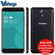 Оригинал DOOGEE X7 Pro роскошные версии 4 г мобильные телефоны Android 6.0 2 ГБ + 16 ГБ MTK6737 Quad Core 720 P Dual SIM 6.0 дюймов сотовые телефоны