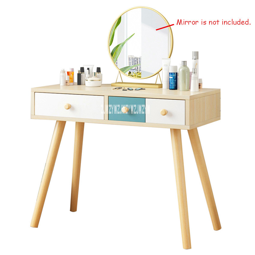 B2507 мебель для спальни современный комод ручной работы доска твердой древесины ноги туалетный столик креативный туалетный столик с ящиком - 5