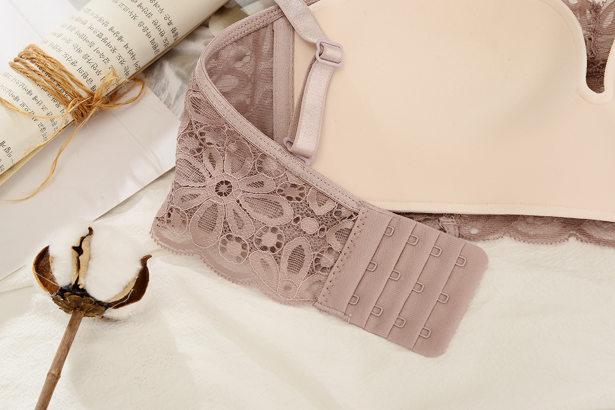 New Women 39 s underwear Set Lace Sexy Push up Bra And Panty Sets Bow Comfortable Brassiere Young Bra Adjustable Deep V Lingerie in Bra amp Brief Sets from Underwear amp Sleepwears