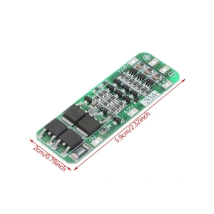 Image 4 - 3S 20A Li ion Lithium Battery 18650 Charger PCB BMS Protection Board 12.6V Cell 64x20x3.4mm Module