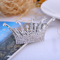 Bridal Crystal Set Auger Tiara Hair Combs Jewelry Wedding Accessories Bride Crown Casamento acessorios para mulher Marriage Gift