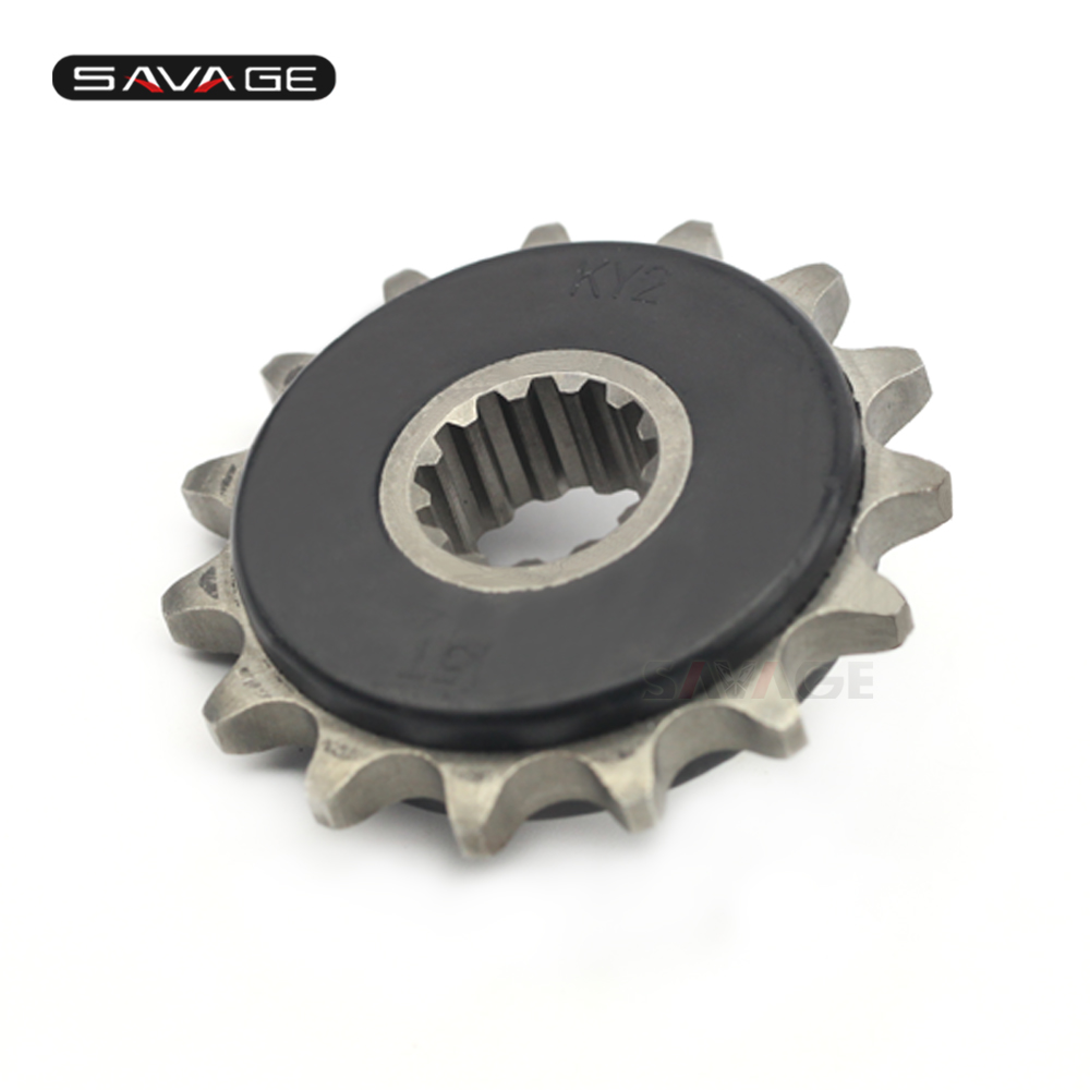 Front Sprocket Drive Gear 525 15T For HONDA CB-<font><b>1</b></font> <font><b>400</b></font> CB500/S CBF500 CB400 <font><b>V</b></font>-TEC SUPER FOUR/Bol Dor Motorcycle Accessories image