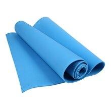 4 мм коврик для йоги EVA экологический фитнес-коврик для упражнений, йоги фитнес-Поролоновый Коврик для йоги