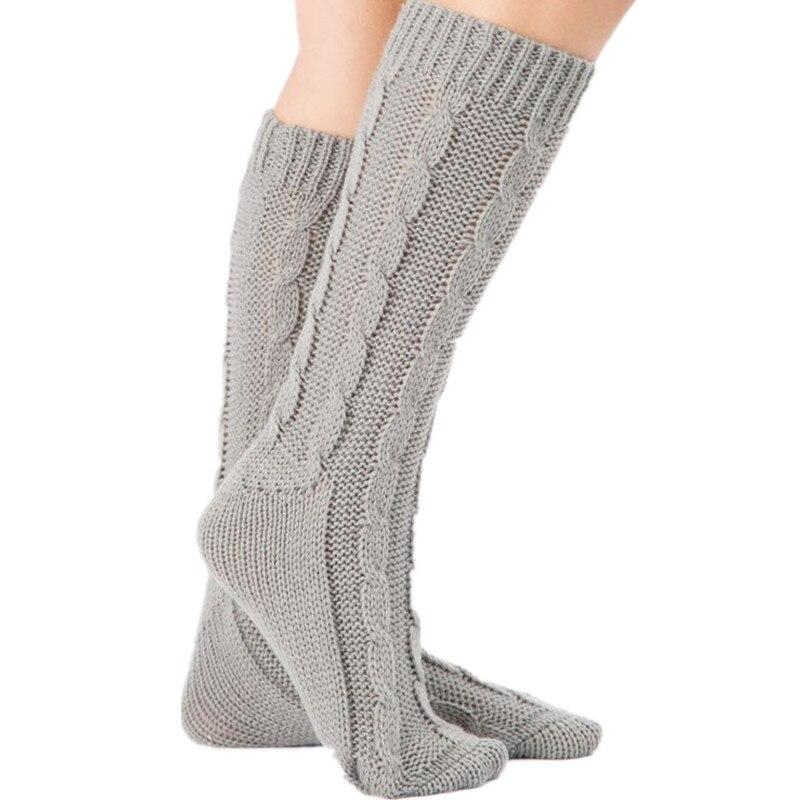 Leggins invierno mujer punto Calentadores para piernas invierno ...