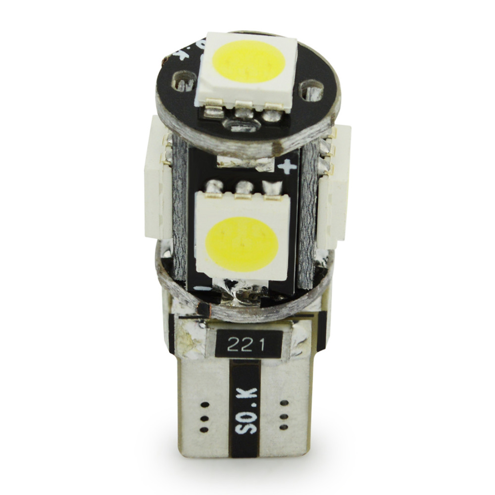 Motorcycle T10 Canbus LED