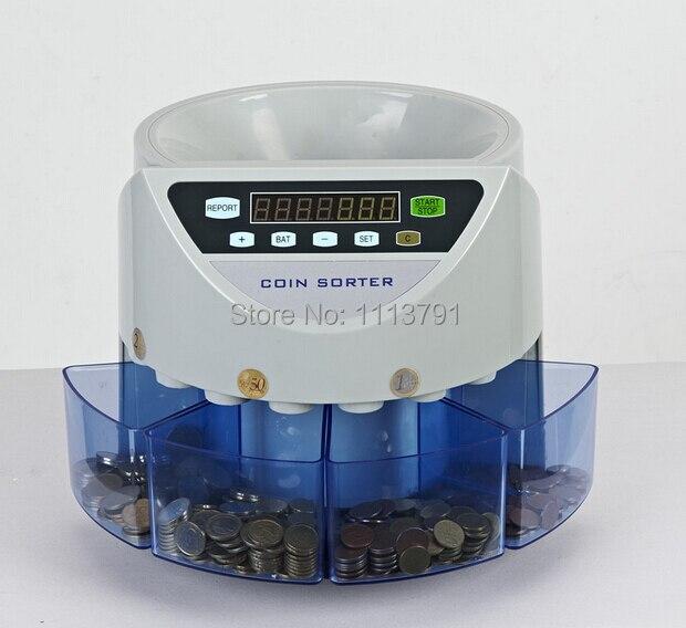 Elettronica selezionatrice di monete SE-900 moneta macchina di conteggio per la maggior parte dei paesi