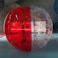 1.5m Diameter pvc inflatable bumper soccer ball with air pump for adult