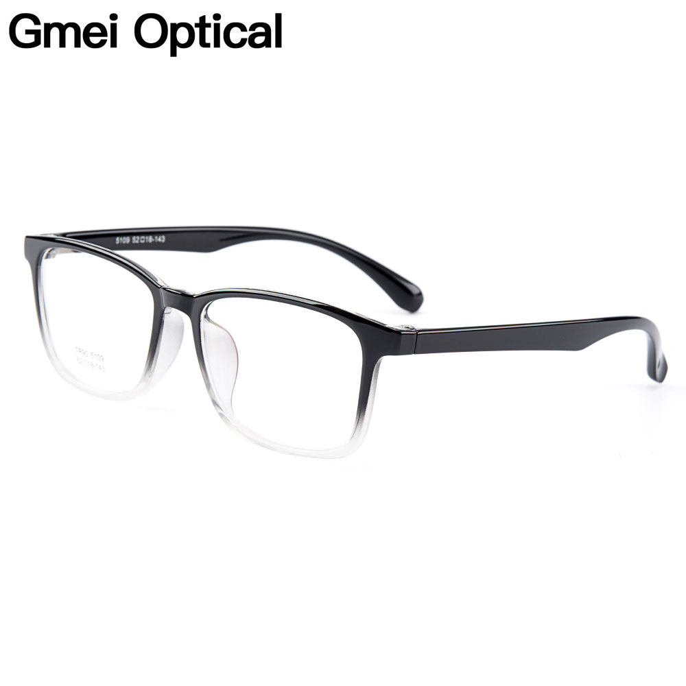 Gmei Ottico Urltra-Light TR90 Donne Vetri Ottici Montature In Plastica Ottica Occhiali Cornice Per Gli Uomini Miopia Occhiali Oculos M5109