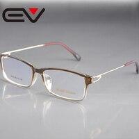 Prezenty świąteczne Okulary Optyczne Rama Kobiety Ultra-fine Metalowe Nogi Okulary Męskie Fajne EV0684 Krótkowzroczność Okulary Oculos de Grau