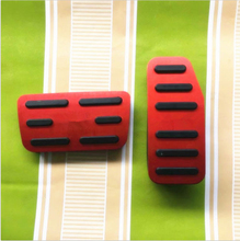 Red Non-slip FIT Accelerator Gas Brake Foot Pedal Pad Cover Fit For 2013-2018 Honda Driver Pedals Replacement Kits
