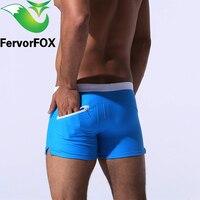 Hot Swimwear Men Breathable Men S Swimsuits Swim Trunks Boxer Briefs Sunga Swim Suits Maillot De
