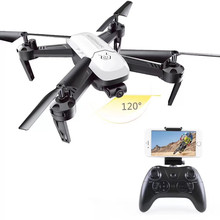 Max 18 Mins Play Time 2.4G 4CH Mini RC Drone Quadcopters 2.0MP WIFI FPV HD Camera Set High Holding Auto Return RC Helicopter LED