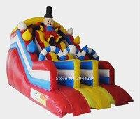 2017New дизайн коммерческих слайд качественный материал ПВХ надувные слайд для детей и взрослых