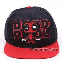 572bd1e7205 Summer Fashion Men Baseball Caps Marvel X-MEN Deadpool Snapback Caps  Adjustable Hip Hop Cap