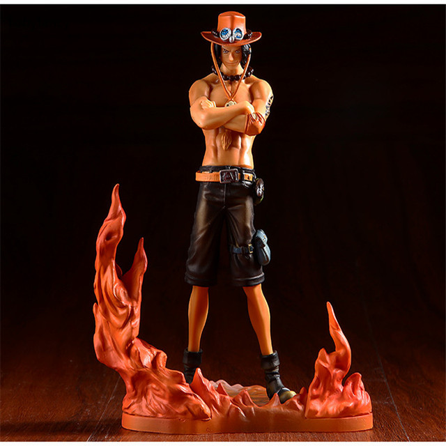 One Piece Japan Anime Figure Ace Action Figure PVC Toy