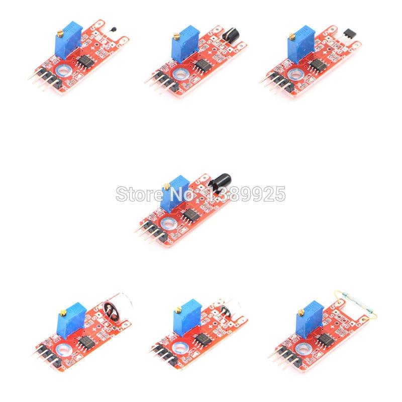 Kit com 37 em 1 para arduino, kit com sensor para arduino de alta qualidade, frete grátis (funciona com placa oficial para arduino)