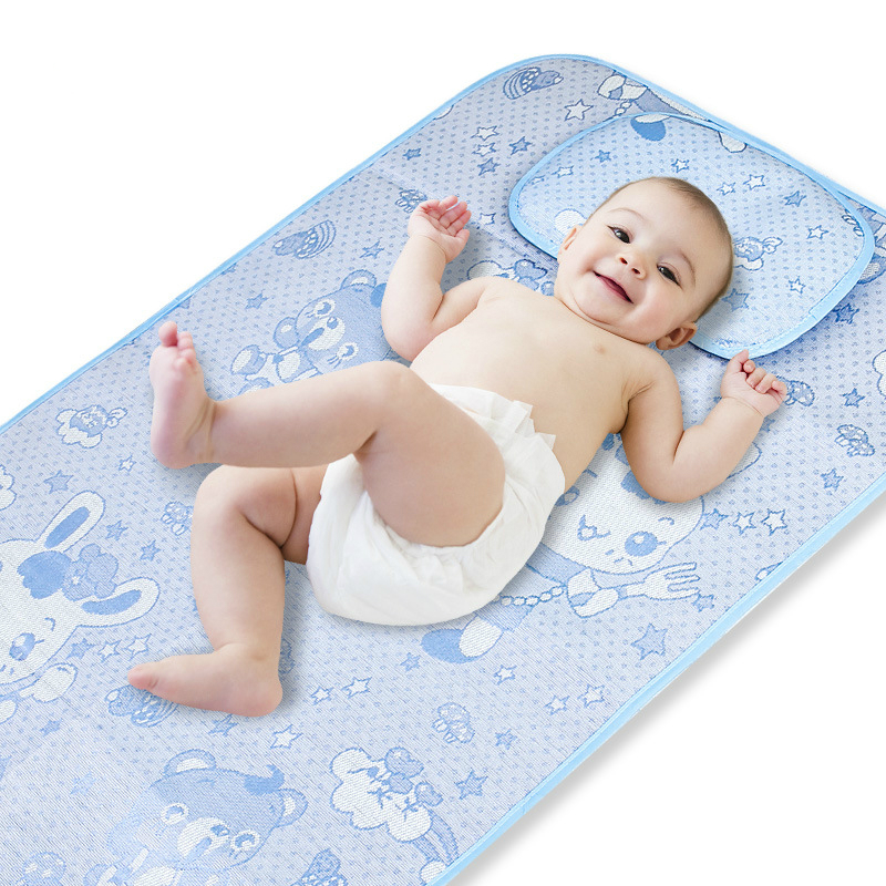 Dropshipping Crib Mat Baby Nappy Changing Pad Ecologic Diaper Changing Sheet Infant Mat Cover Baby Waterproof Bed Mattress