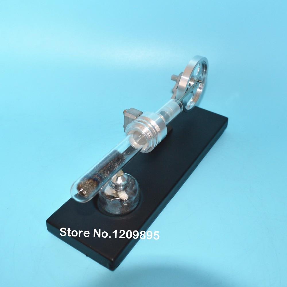 Stirlingmotor model Wetenschappelijk experiment Thermische echo - School en educatieve benodigdheden - Foto 5