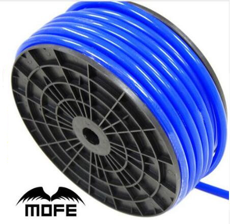 7.15 Mofe Universal 5M 3mm/4mm/6mm/8mm Silicone Vacuum Tube Hose Silicon Tubing Blue Black Red Yellow Car Accessories(China)