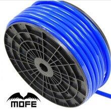 7,15 Mofe Универсальный 5 м 3 мм/4 мм/6 мм/8 мм силиконовый вакуумный шланг кремниевые трубки синий черный красный желтый автомобильные аксессуары