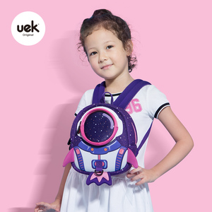 Image 4 - 2019 新 3D 子供ランドセルかわいいアンチロスト子供のバックパックスクールバッグバックパック子供のためのベビーバッグ年齢 1 6