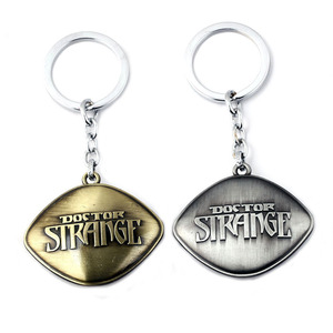 Image 3 - Marvel Superhero Figure Doctor Strange Eye of Agomotto Keychain Toy Avengers Union  Glasses Pendant Car Bag Necklace Gift