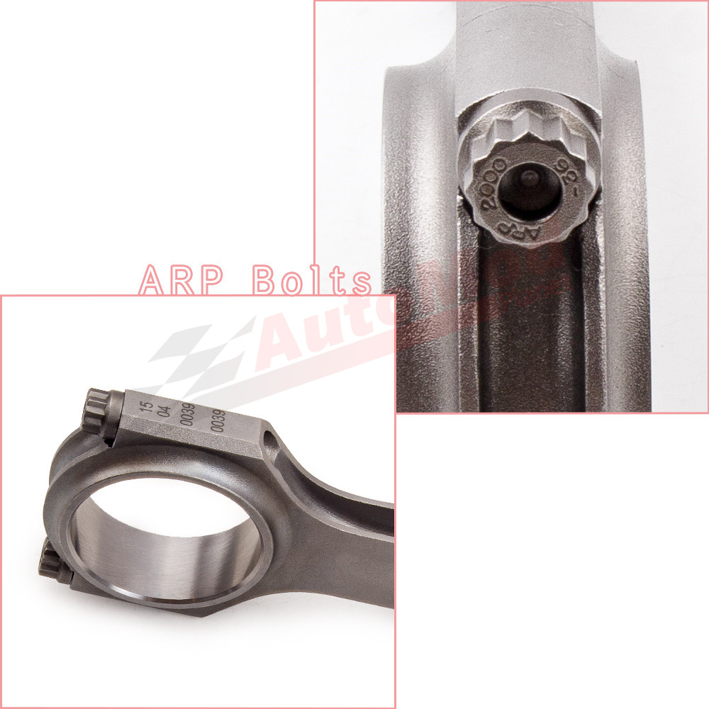 Connecting Rods with ARP2000 Bolts for Datsun 1200 Nissan Sunny B310 A12 Conrod