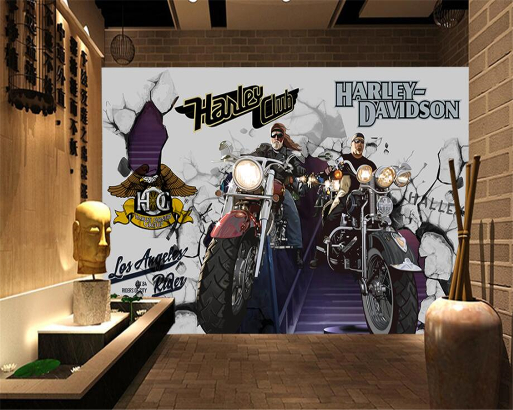 Beibehang Benutzerdefinierte Tapete Bar KTV Dekoration Hintergrund ...