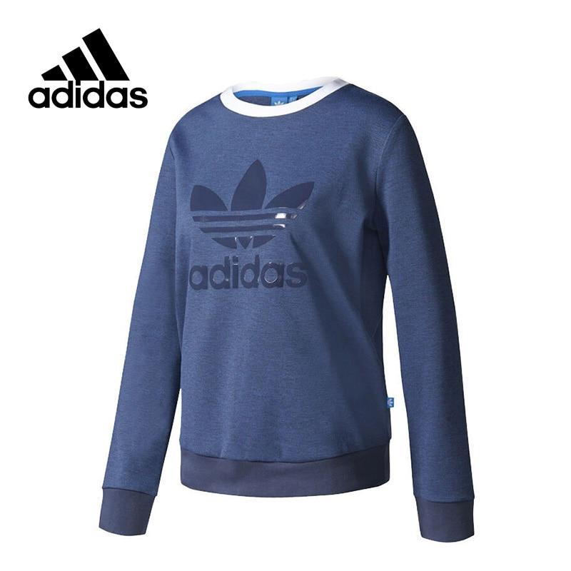 Adidas New Arrival 2017 Official Originals CREW SWEATER Women's Pullover Jerseys Sportswear BJ8293 adidas new arrival official originals trefoil sweatshirt women s pullover jerseys sportswear aj8397