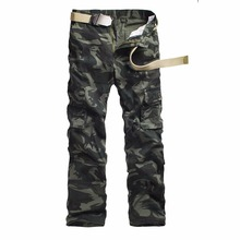 Camouflage pants Men Full Length multi-pocket military use Durable and high quality