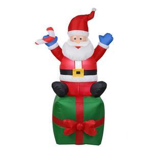 Image 3 - Nadmuchiwany święty mikołaj boże narodzenie na zewnątrz ozdoby świąteczne przyjęcie noworoczne sklep domowy Yard dekoracje ogrodowe ozdoby świąteczne