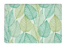 Floor Mat Green Leaf Art Allover repeat Print Non-slip Rugs Carpets alfombra For Indoor Outdoor living kids room