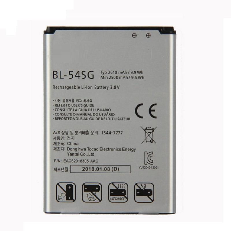 BL-54SG (BL-54SH) Battery for LG G2 F320 F340L H522Y 2610mAh F260 D728 D729 H778 H779 D722 LG lg90 D410