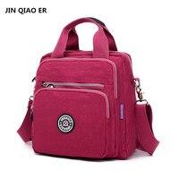 Women Nylon Bag Multifunctional Backpack Waterproof Handbag High Capacity Travel Shoulder Messenger Bag High Quality Handbag